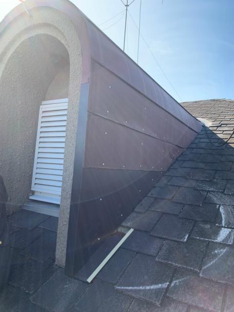 屋根修理・新規板金張りイメージ